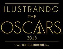 ILUSTRANDO THE OSCARS 2015