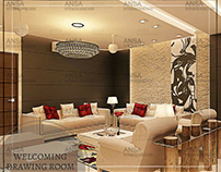 Welcoming Drawing Room