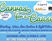 Canvas for a Cause Fundraiser