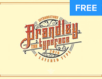 Free Font of the Week - Brandley
