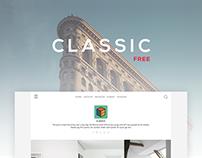 Classic Free - Grid Tumblr Theme
