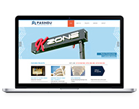 Pasindu Construction - Web Design