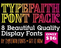 TypeFaith Font Pack