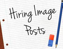 Job Hiring Image Design