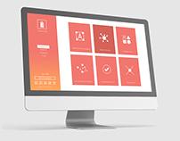 Optimal Card - UI/UX Website design