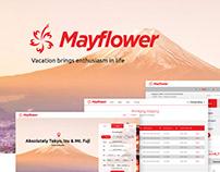 Mayflower Flight Booking System