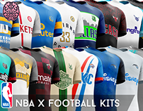NBA x Football Kits