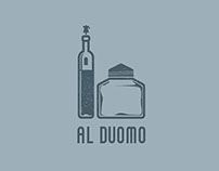 LOGO x OSTERIA AL DUOMO | at the Dome tavern