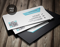 Creative Business Card Template | Freebie