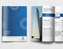 Company Profile Template Vol.45 - 12 Pages