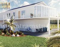 3d exterior house designs & 3d landscape design