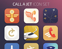 App Icons for Call a Jet