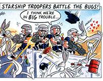 Starlog Cartoons 1998