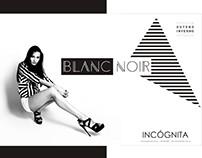 BLANC NOIR- Previw Outono Inverno Incógnita