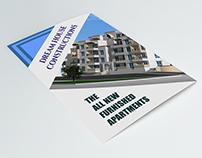 Real Estate Bi-Fold brochure design.