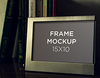 MockupFrame (15x10) | FREE DOWNLOAD