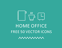 50 Free Home Office Icons