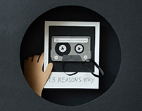 13 reasons why | paper art