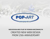 POP-ART s.r.o. - výroční design