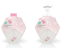 SHOKUBUTSU SOAP PUMPING PACKAGE DESIGN IDEAS