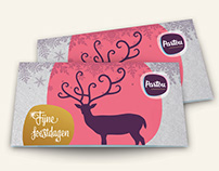 Cadeaukaart, magazine en illustraties