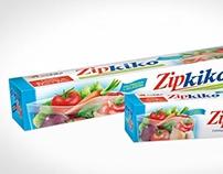 Redesign Linha de Embalagens Zip Kiko
