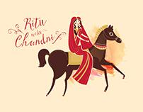 Ritu weds Chandni // Illustrated Children's Book
