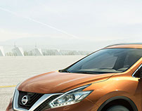Nissan Murano. Life is gaining hight. (Printed ad)