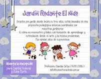 Advertising Posters Consultora El Nido