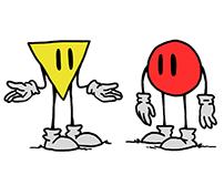 Geometricamente Falando - Comic