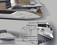 Kingfisher Exterior Design Sketch