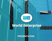 Business World Enterprise Powerpoint Template