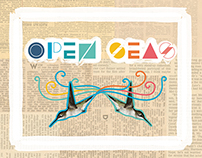 "Open Seas CD Cover for the single ""I keep on walking"""