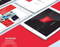 Outside Digital Agency Website