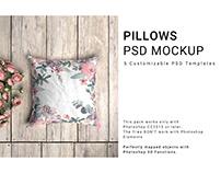 Throw Pillows Mockup Set
