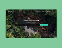 Trip Guadeloupe homepage