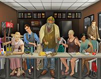 Modern Last Supper