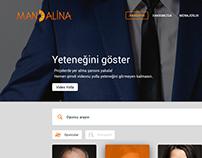 Ajans & Menajerlik Web Site Çalışması