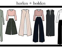 Pre-holiday collection for Harlan+Holden