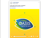 Facebook Post Animation for Oasis UAE