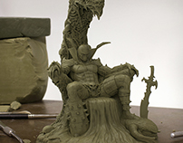 Hell Spawn sculpt