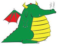 Cute Fat Dragon