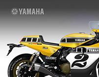 """YAMAHA XV 950 KR """"Yard Built"""""""