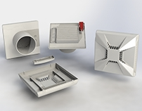 fan vents enclosure design