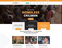 NONPROFIT CHARITY - WordPress Website Template Design