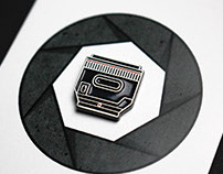 Camera Lens Enamel Pin