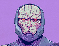 Darkseid - NEW GODS - Print/Poster