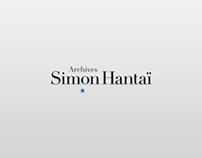 """Website for """"Archives Simon Hantai"""""""