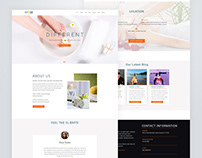 Spa Landing Page Design