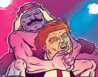 Trump in the Camel Clutch